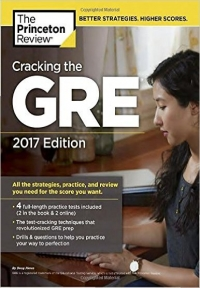 Cracking the GRE with 4 Practice Tests 2017