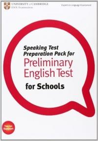 Speaking Test Preparation Pack for PET for Schools