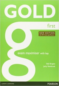 Gold First Exam Maximiser with CD