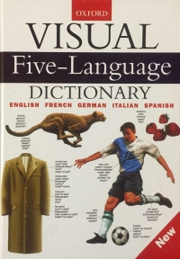 Visual Five Language Dictionary