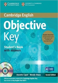 Objective Key student and work book for school+2cd second edition