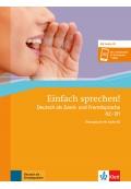 Einfach sprechen! A2-B1 Deutsch als Zweit- und Fremdsprache Übungsbuch + Audio-CD