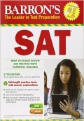 Barrons SAT 27th edition with cd