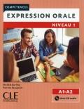 Expression orale 1  Niveaux A1/A2 Livre + CD 2ème édition سیاه سفید