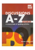 Discussions A- Z Advanced