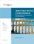 Writing with Confidence Writing Effective Sentences and Paragraphs 9th Edition