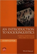 An Introduction to Sociolinguistics 7th edition