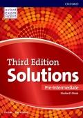 Solutions Pre-Intermediate 3rd Edition