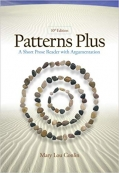 Patterns Plus: A Short Prose Reader with Argumentation 10th Edition