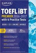 TOEFL Kaplan  iBT Premier 2016-2017