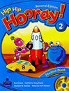 Hip Hip Hooray 2 Student Book & Workbook 2nd Edition with CD