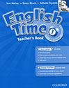 English Time 1 Teachers Book 2nd Edition with cd