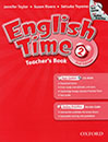 English Time 2 Teachers Book 2nd Edition with 1cd
