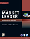 Market Leader Intermediate 3rd edition s.b+w.b+DVD+CD