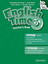 English Time3 (2nd) Teachers Book with cd