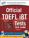 official toefl IBT tests 2013 with cd