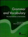 Grammar and Vocabulary pre-intermediate to intermediate