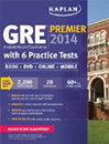 Kaplan GRE Premier 2014 with DVD