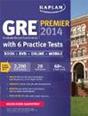 Kaplan GRE Premier 2014 with DVD