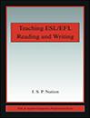 Teaching ESL-EFL Reading and Writing