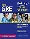 New GRE Verbal Workbook KAPLAN 7th