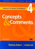 Reading & Vocabulary Development 4 Concepts & Comments