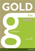 Gold First Coursebook with 2CD