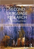Second Language Research Methodology and Design Second Edition