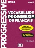 Vocabulaire progressif du français  Niveau avancé (B2/C1) 3rd