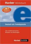 Hueber Worterbuch Deutsch Als Fremdsprache