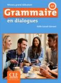 Grammaire en dialogues  Niveau grand débutant (A1) Livre + CD 2ème édition سیاه سفید
