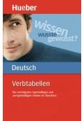 Verbtabellen Deutsch