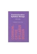 Communicative Syllabus Design