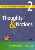 Reading and Vocabulary Development 2 Thoughts and Notions
