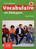 Vocabulaire en dialogues Niveau débutant (A1/A2)  Livre + CD 2ème édition سیاه سفید