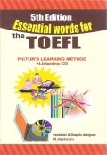 Essential words for the TOEFL Picture's learning method+Listening CD