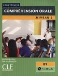 Compréhension orale 2 Niveau B1  Livre + CD 2ème édition سیاه سفید