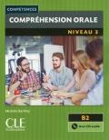 Compréhension orale 3 Niveau B2  Livre + CD 2ème édition رنگی