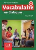Vocabulaire en dialogues Niveau intermédiaire (B1)  Livre + CD 2ème édition سیاه سفید