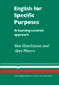English for Specific Purposes A learning centered approach