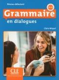 Grammaire en dialogues Niveau débutant (A1/A2) Livre + CD 2ème édition سیاه سفید