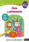 Coloriages Malins   Fées et princesses   A partir de 4 ans
