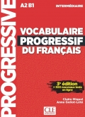 Vocabulaire Progressif Du Francais Intermediaire A2 B1 3rd