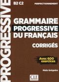 Grammaire progressive du français  Niveau perfectionnement B2/C2 سیاه سفید