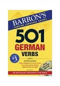 501German Verbs