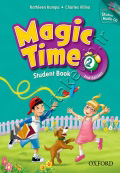 Magic Time 2 Student Book & Workbook 2nd Edition with CD