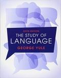 The Study of Language 6th
