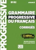 Grammaire progressive du français  Niveau avancé B1/B2 سیاه سفید