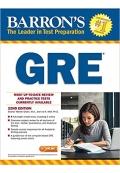 GRE Barron's 22 Edition