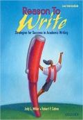 Reason to Write Low Intermediate